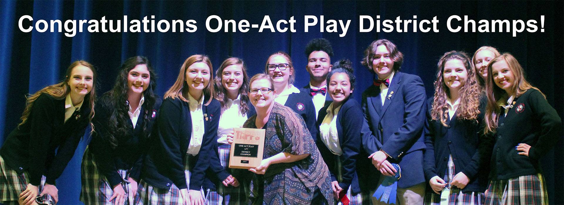 Rider Wins Best Actor at State Competition – All Saints