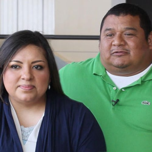 Click picture to view the Flores family story