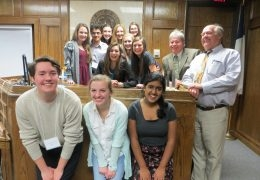 Mock Trial wins Regional Championship; Headed to State!