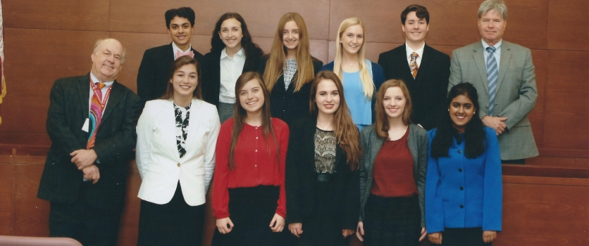 Mock Trial Team Competes at State Competition