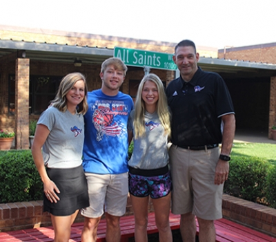 Two all saints athletes, two all saints coaches receive TAPPS highest awards