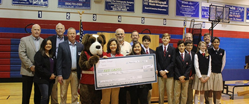 All Saints Joins with Happy State Bank to Benefit the Lubbock Chapter of the American Red Cross
