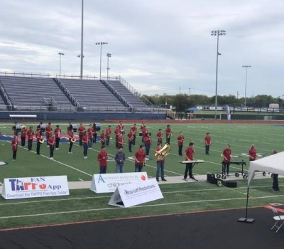 High School Band Wins TAPPS 2A Best in Class