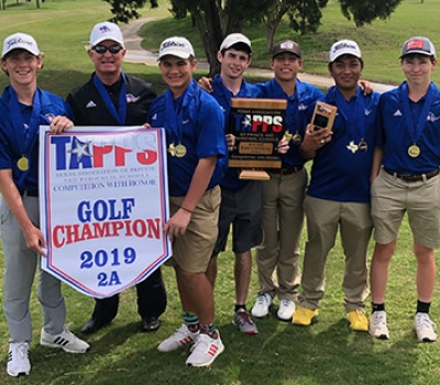 Patriot Boys Win TAPPS 2A State Golf Championship