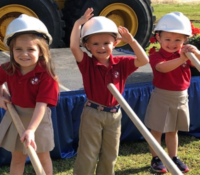 All Saints Breaks Ground on New Middle School