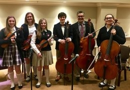 Orchestra Performs at Hospice of Lubbock Event