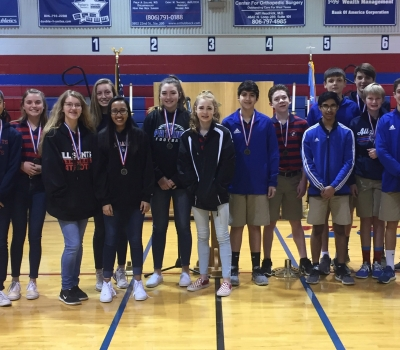 PATRIOTS WIN WTCAA DISTRICT CHAMPIONSHIPS