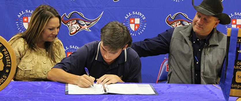 Jackson Drake Signs Letter of Intent with Oral Roberts University