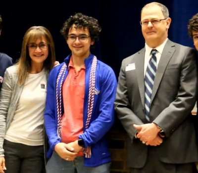 Rep. Arrington Surprises All Saints Student with Military Appointment